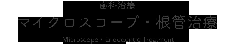 歯科治療 マイクロスコープ