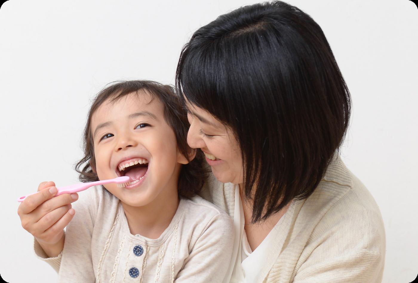 虫歯や歯周病予防のイメージ画像